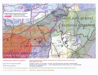 aquifers surrounding the Babbitt area where Poymet wants to build a copper mine