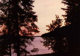 Nipigon Sunset 1980s