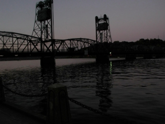 Stillwater Bridge at Sunset